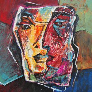 Abgeklärt, 60 x 50 cm, 2008