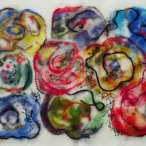 Blumenstrauß, 30 x 40 cm, 2015