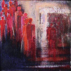 Eintritt, 40 x 40 cm, 2009