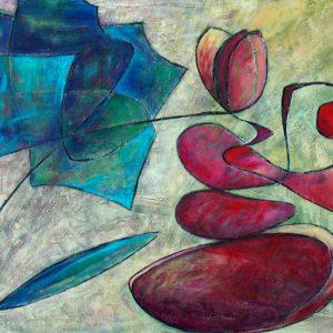 Yin & Yang,  80 x 60 cm, 2009